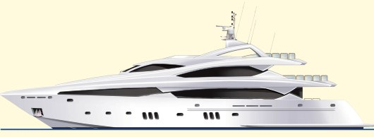 37m Sunseeker Custom Yacht