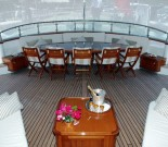 DRUMBEAT - The Yachts Aft Deck