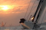 LEOPARD - Poniting to Windward at Sunset2