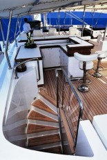 Sailing Yacht Felicita West - Flybridge