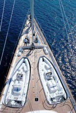 Sailing Yacht Felicita West - Foredeck Tenders