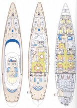 Sailing Yacht Felicita West - Layout