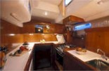 beneteau 57 galley